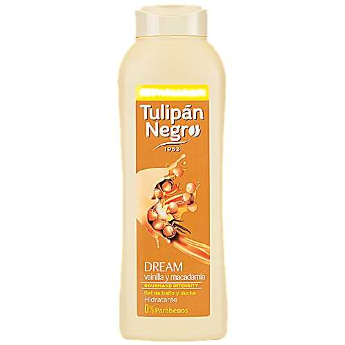 Tulipan Negro: Gel Vainilla y Nueces de Macadamia Dream - 720ml