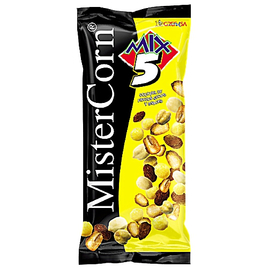Mister Corn Mix 5 - Barbecue-Geschmack - 120g