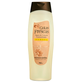 Instituto Español: Agua de Colonia Gotas Frescas Man - 750ml