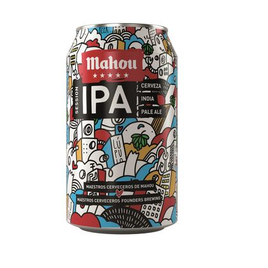 Mahou Cinco Estrellas Session IPA, Dose 0,33 cl
