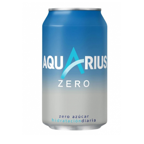 Aquarius ZERO Zitrone - Aquarius ZERO Limon - Dose à 33 cl