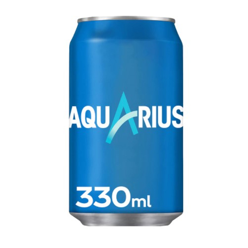 Aquarius Zitrone - Aquarius Limon - Dose à 33 cl