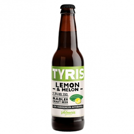 Tyris Lemon & Melon - Flasche 33 cl