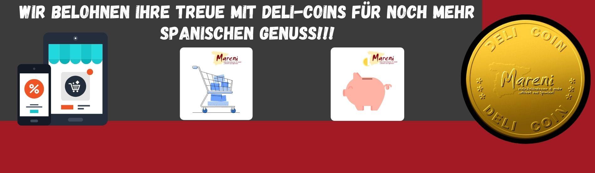 deli-coins für noch mehr spanischen Genuss